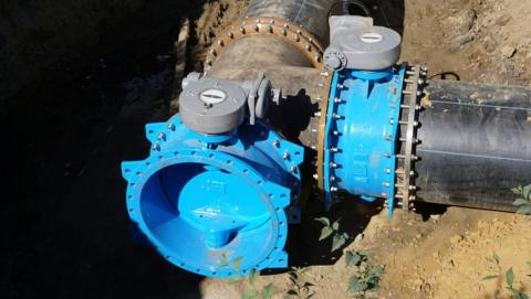 КВС: материалы и техника готовы к вводу в эксплуатацию нового водовода