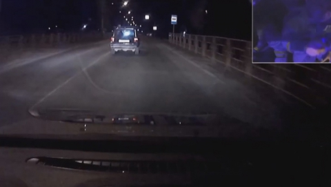 Погоня с перестрелкой произошла в Энгельсе из-за пьяного водителя | ВИДЕО