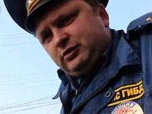 Лихач сбил инспектора ГИБДД и скрылся