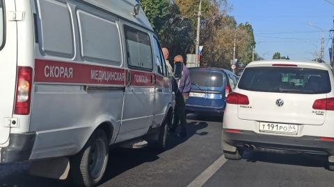 Проезд из Энгельса в Саратов затруднен из-за ДТП