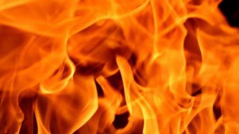 Дом под Марксом сгорел из-за неисправной проводки