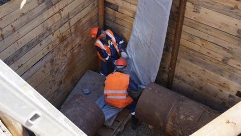 По инвестпрограмме КВС введен в эксплуатацию новый магистральный водовод