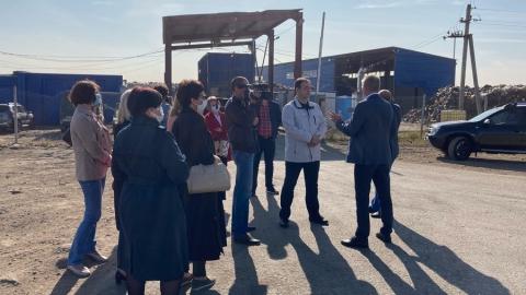 Представители саратовской администрации и гордумы впервые посетили объекты обращения с ТКО