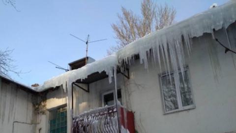 Правительство Саратовской области заключает контракт на очистку крыш от сосулек