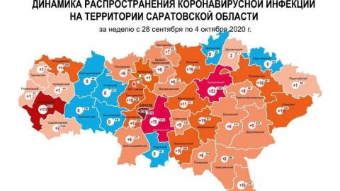 Семь районов области прирост ковидных больных на этой неделе обошел стороной