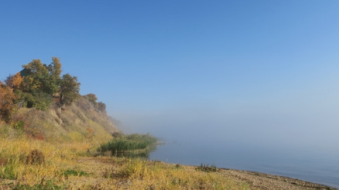 Холодное туманное утро сменится ясным теплым днем