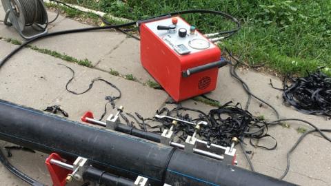 В Жасминном КВС заменили водопроводный ввод для бесперебойной подачи тепла