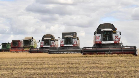Валерий Радаев: Собрано 5 миллионов тонн зерна!