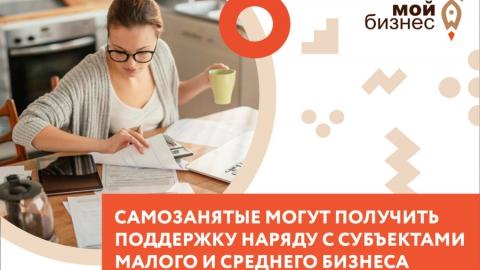 Самозанятые получили поддержку наряду с субъектами малого и среднего предпринимательства