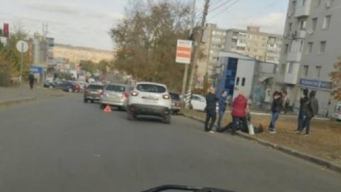 Мужчина сбит 20-летней девушкой в Солнечном районе