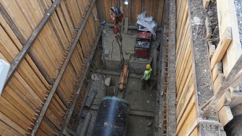 По инвестпрограмме КВС продолжается строительство магистрального водовода протяженностью 6,5 км