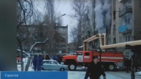 Пять квартир остались без газа после взрыва в Волжском районе
