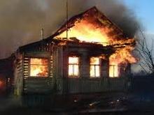 Женщина погибла на пожаре в жилом доме