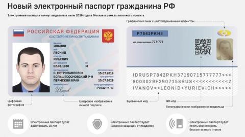 Чиновники вернулись к обсуждению электронных паспортов