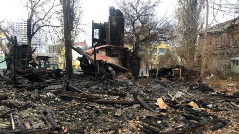 Неизвестный погиб на пожаре в расселенном доме