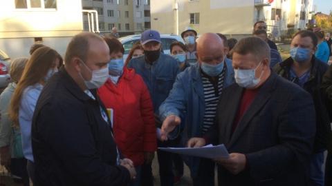 Застройщика обязали устранить нарушения, допущенные в Иволгино