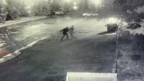 Смертельная драка в Ленинском районе попала на камеры наблюдения