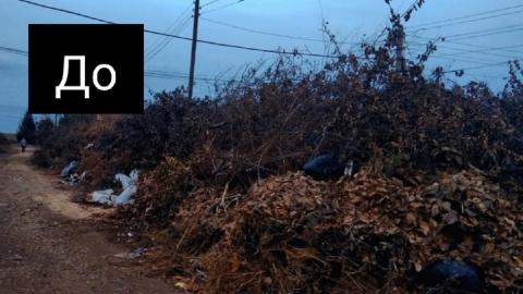 После публикации Saratovnews в Балакове убрали полугодовую свалку