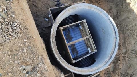 КВС завершили монтаж канализационного коллектора по улице Набережная