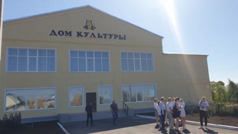 Сразу два Дома культуры отремонтированы в Ивантеевском районе