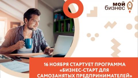 Самозанятые граждане смогут принять участие в онлайн-программе по развитию своего бизнеса