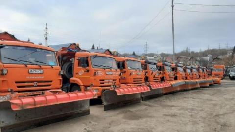 Коммунальные службы готовятся к уборке снега