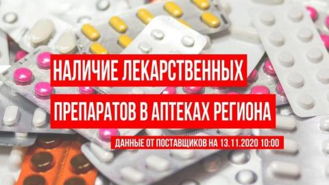 Опубликованы утренние данные по лекарствам в саратовских аптеках
