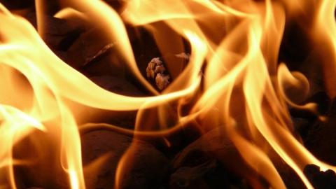 Женщина пострадала на пожаре в Энгельсе