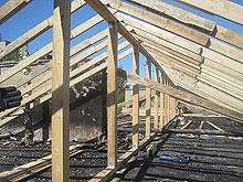 Фоторепортаж из сгоревшего дома. 18 дней спустя