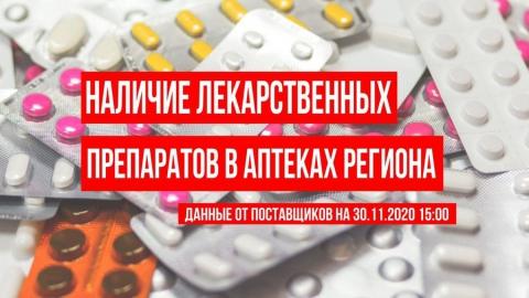 Опубликован новый список саратовских лекарств