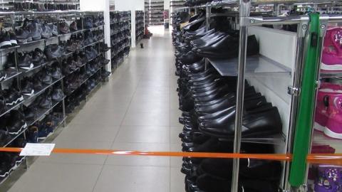 Из магазина изъято четыре тысячи пар обуви