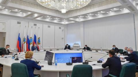 Генеральный директор ПАО «Т Плюс» Андрей Вагнер провел рабочую встречу с губернатором Валерием Радаевым