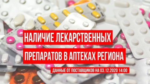 Обновлена статистика по саратовским лекарствам