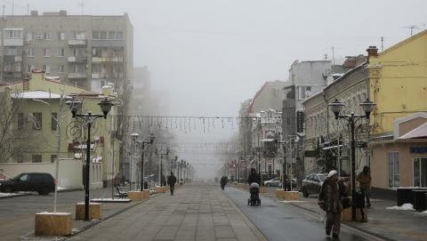 В Саратове сохраняется хорошая морозная погода