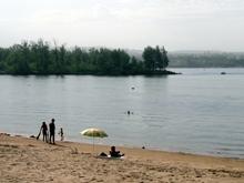На волжском острове пляжники нашли труп без руки