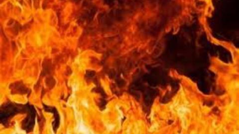 Сигарета стала причиной пожара в жилом доме