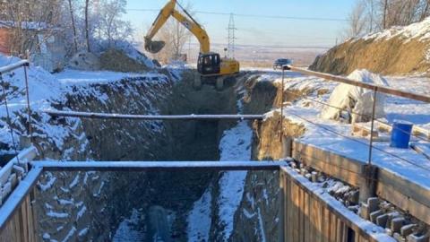КВС: выполнен самый сложный этап строительства магистрального водопровода в Ленинском районе