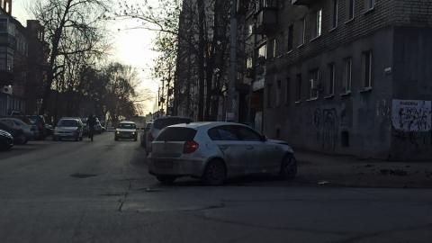 Двойная авария на Московской. Будет пробка
