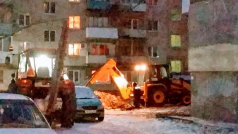 В Заводском районе Саратова снова произошел прорыв водовода