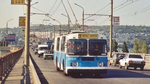 Будет восстановлен «девятый» троллейбусный маршрут через мост