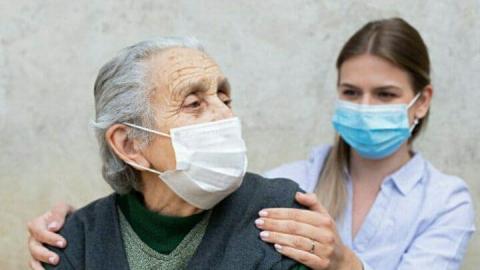 У 96 стариков сегодня подтвердился коронавирус