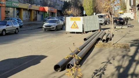 По инвестпрограмме КВС заменен аварийный водопровод по Шелковичной