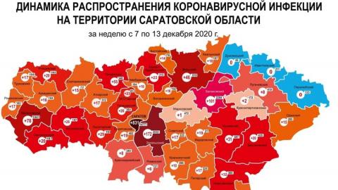 На 48 больше: прирост случаев коронавируса в Саратовской области за неделю