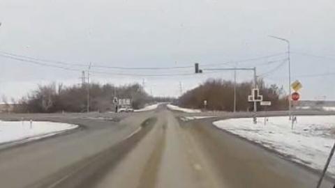 Запуск светофора на Песчано-Уметском тракте оказался фейком | ВИДЕО