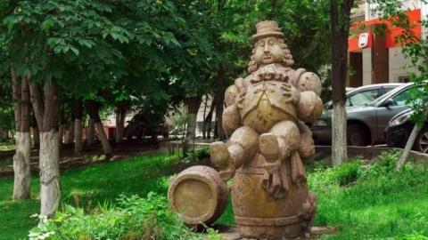 Скульптура «Робин Бобин» в Саратове включена в сотню необычных скульптур России
