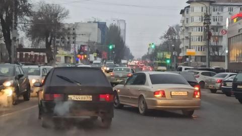 Два Hyundai устроили коллапс на улице Чернышевского