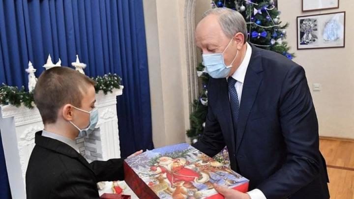 Губернатор Саратовской области Валерий Радаев исполнил мечту ученика 9 класса