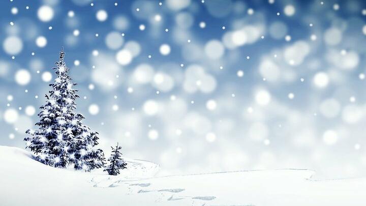 Снегопад в Саратове продолжается