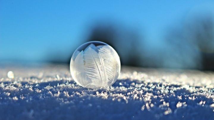С утра в Саратове -22 градуса и снегопад