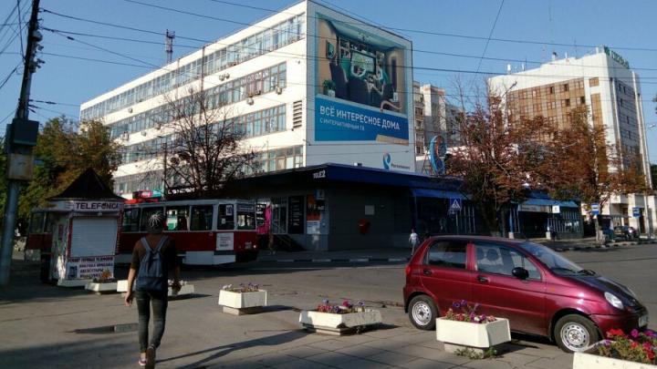 Саратовские трамваи встали в Мирном переулке